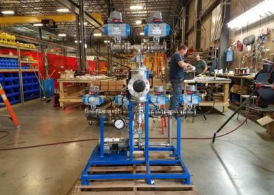 316L Stainless Helios TCS Skid & Collector for Crude Oil Heat Exchangers