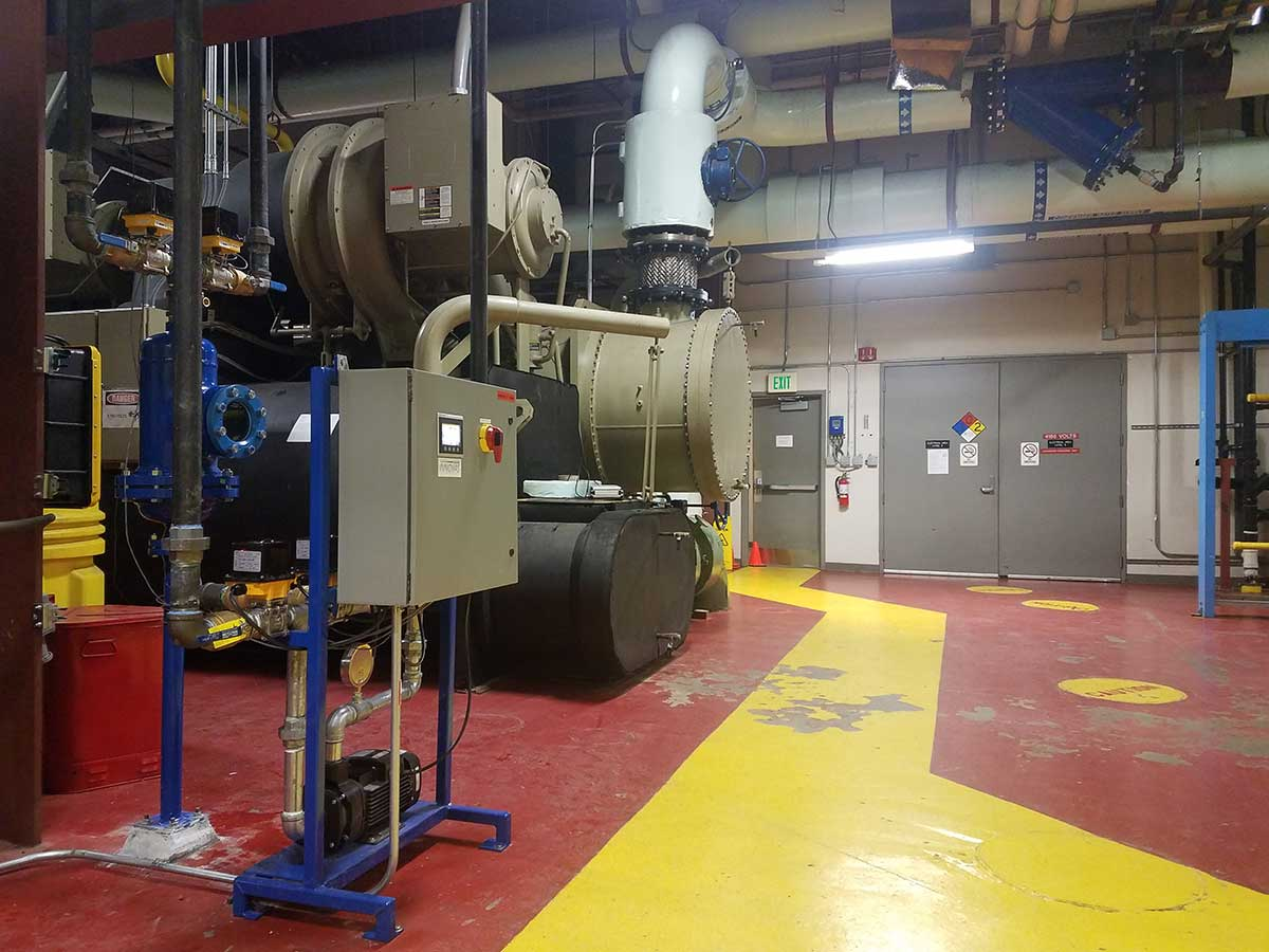 Xcel Energy Helios Tube Cleaning System in Denver