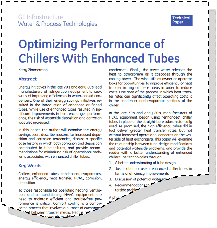 Optimizing Chiller Efficiency And Performance With Enhanced Tubes