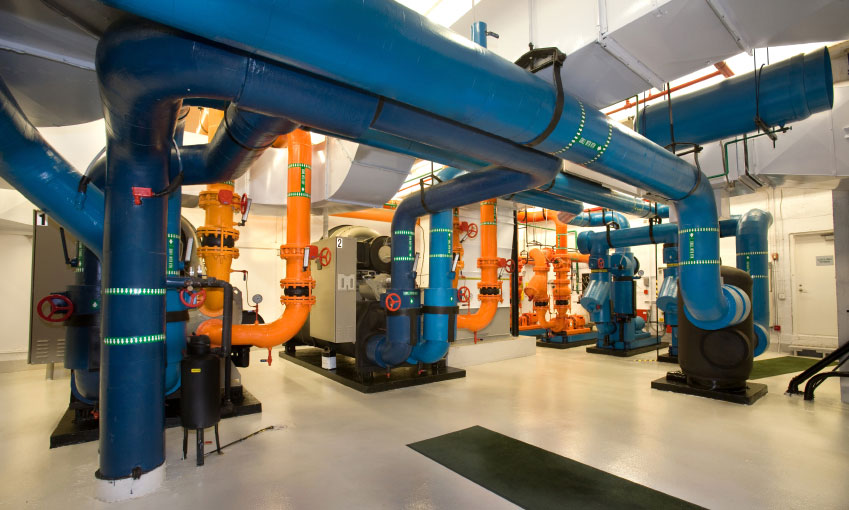 Improve Chiller Efficiency via Automatic Tube Cleaning Systems
