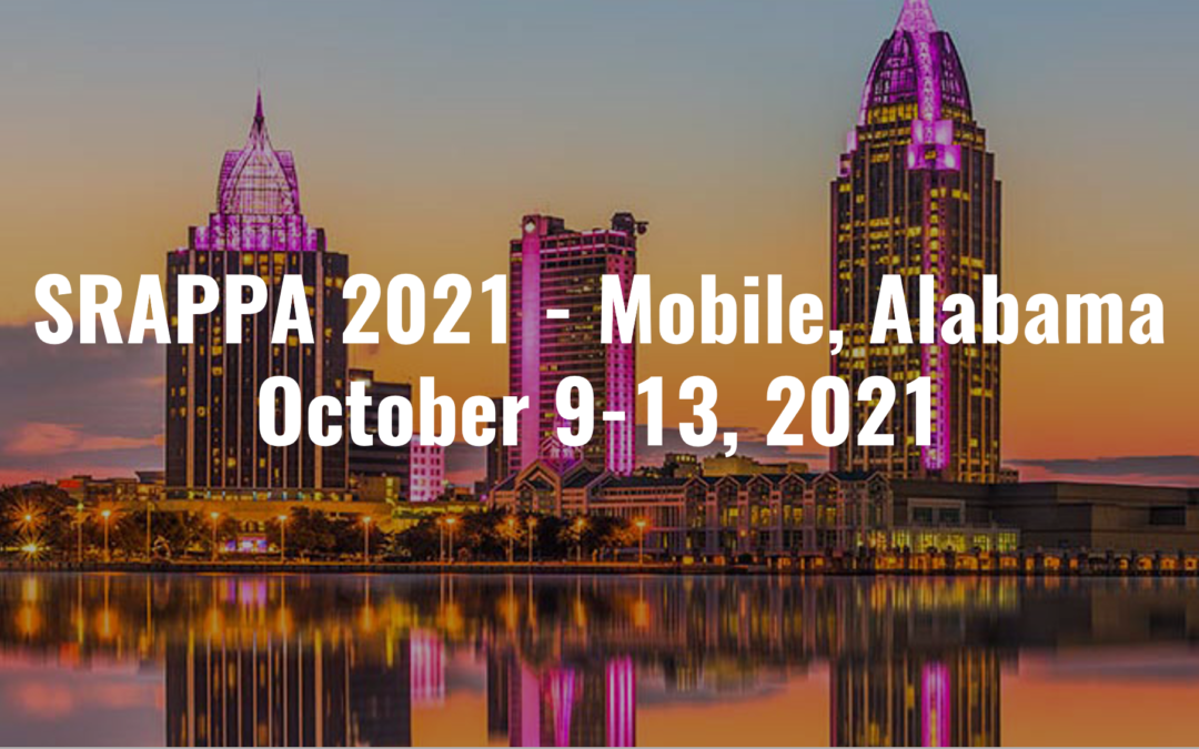 Join Innovas Technologies at SRAPPA on October 9-13, 2021